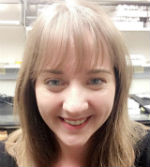 Laura Swanson Selfie in laboratory